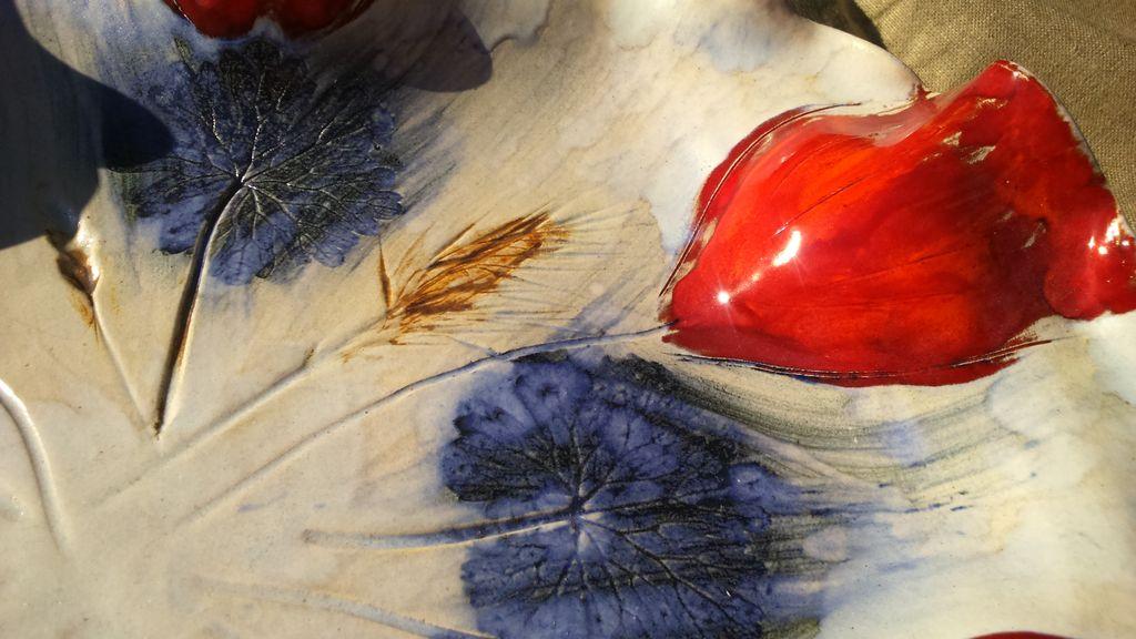 Patera w Czerwone Tulipany